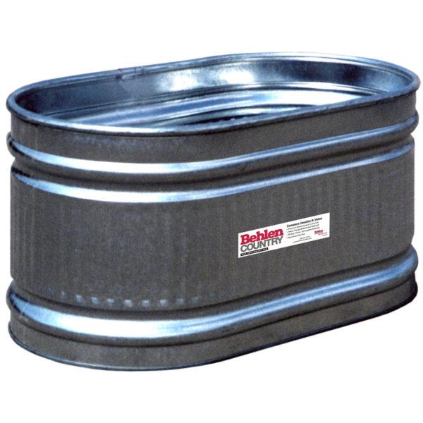 225 galvanized round end tank approx 134 gal behlen. Black Bedroom Furniture Sets. Home Design Ideas