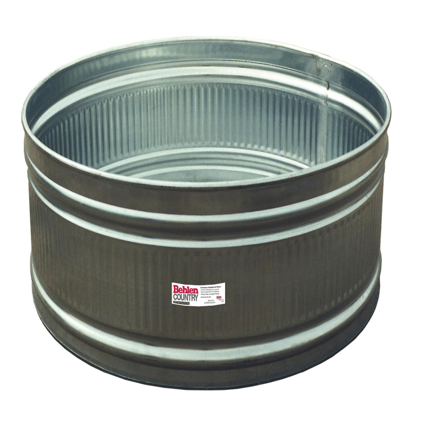 galvanized round stock tanks behlen country. Black Bedroom Furniture Sets. Home Design Ideas