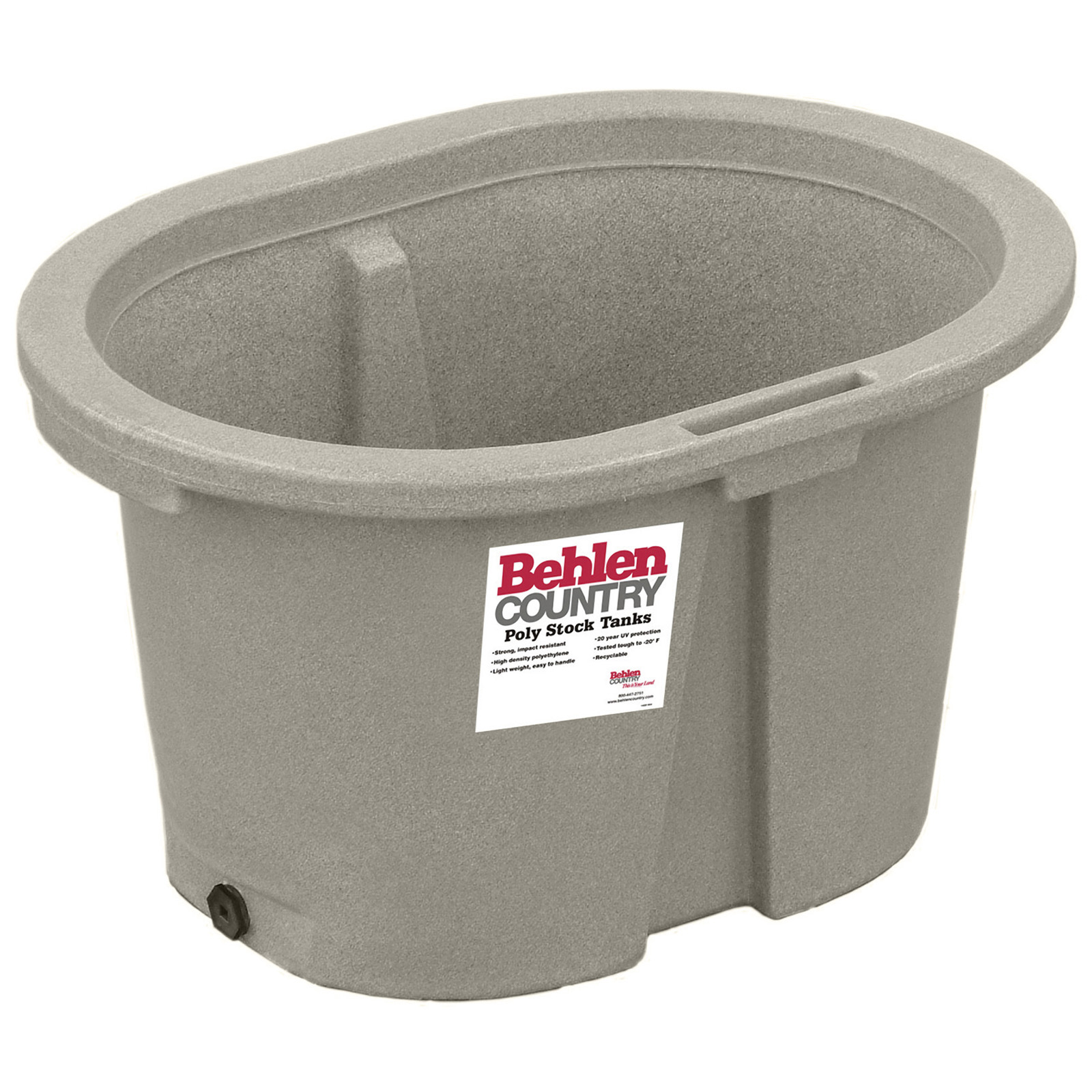 Poly Round End Stock Tanks | Behlen Country