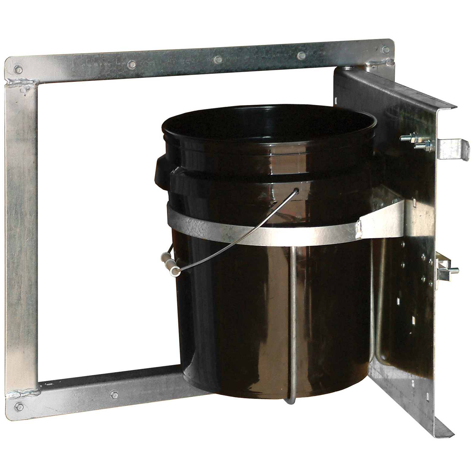 Swing Out Bucket Holder