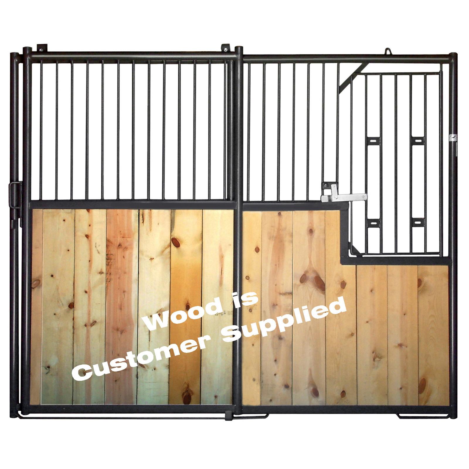 10 Front Horse Stall Panel W Door Behlen Country
