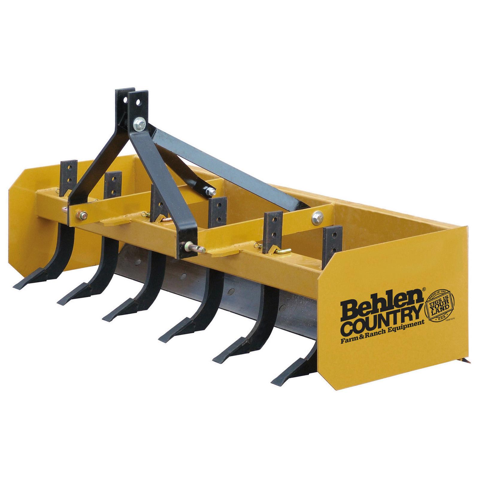 6′ Heavy Duty Box Blade | Behlen Country